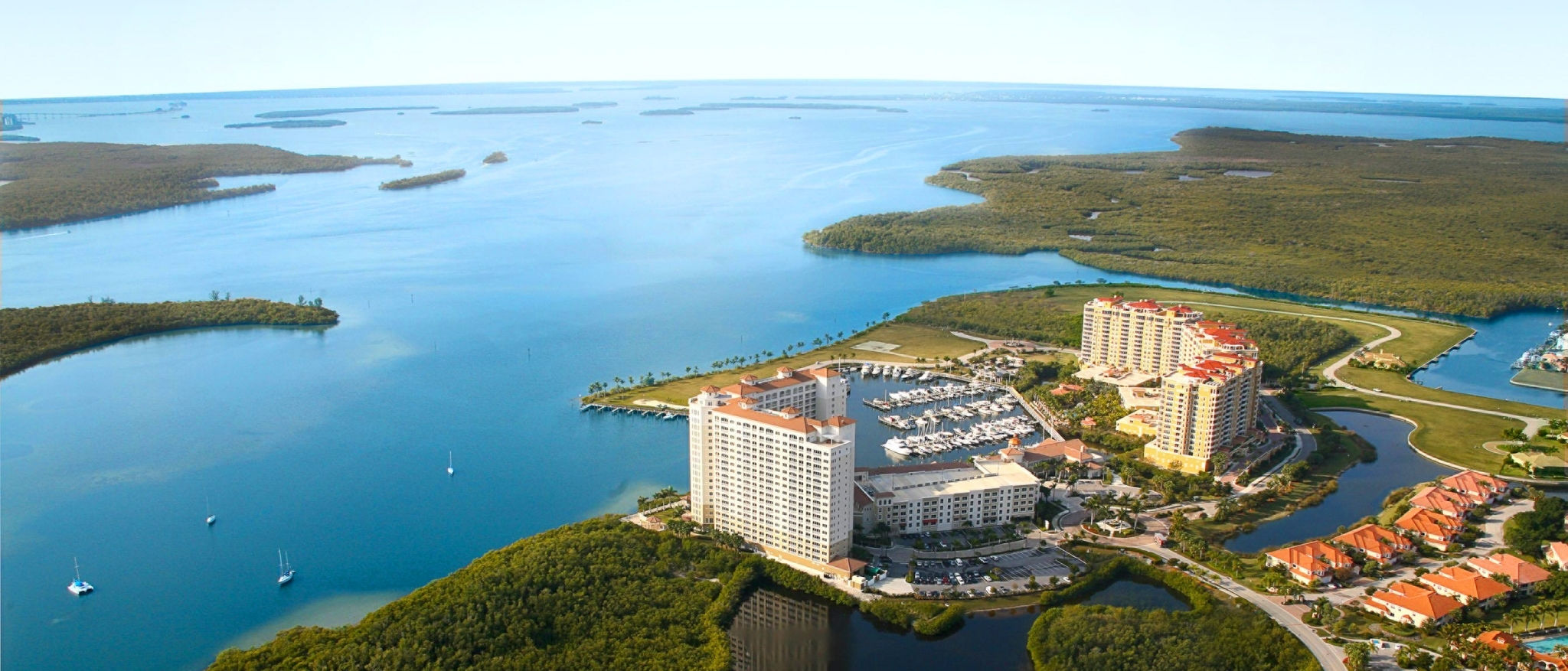 The Westin Cape Coral Resort at Marina Village - Aerial